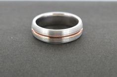 Rose Gold and Palladium Wedding Men, Wedding Bands, Rose Gold, Engagement Rings, Jewelry, Enagement Rings, Wedding Rings, Jewlery, Jewerly