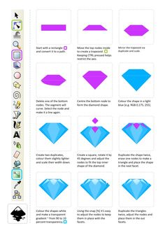 2D Game Art for Programmers: Creating diamonds - in a quick and easy way