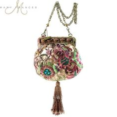 Exquisite Spanish Villa Handbag by Mary Frances