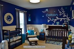 My friend and her hubby showcased their nursery!  It is amazing!