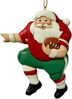Santa Claus Playing Football 1234 >>> This is an Amazon Affiliate link. For more information, visit image link.