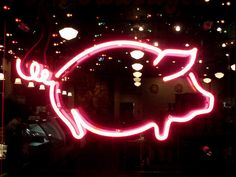 Neon pig by mag3737, via Flickr