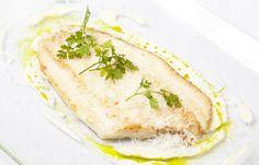 Lemon sole with Parmesan and cream by Galton Blackiston