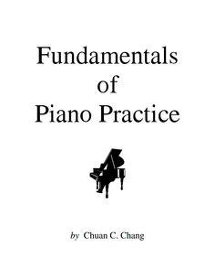 Fundamental of Piano Practice: Free e-book