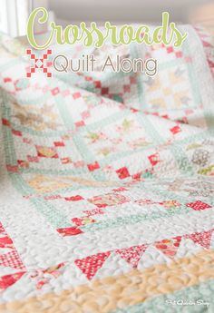 Crossroads Quilt-Along: A Bend in the Road
