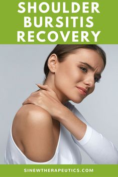 Shoulder Bursitis Recovery - You may feel hard nodules like sand in the tissue, indicating accumulation, calcification, and adhesions, which all cause pain, stiffness, and instability. Learn more at SinewTherapeutics.com