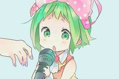 Oh, little Gumi is so cuuute!