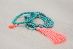 Turquoise Bay Tassel Set. S A L T | W A T E R  The cure for anything is salt water: sweat, tears or the sea. Turquoise Bay is one of Western Australia's most gorgeous beaches, and our stunning 'Turquoise Bay' accessories match the beautiful clear waters. On trend neon tassels add something special to your outfit, and all items are designed to layer and stack to add extra oomph.  What makes these gorgeous necklaces special is the additional length!  #RubyAndLilli