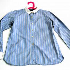 Color Se De Estado 16 Puños Lauren Blanco En Cuellos Mano Segunda Años Polo Y Ralph Camisa Rayas Perfecto Esta Talla Encuentra nRxfPWIawz