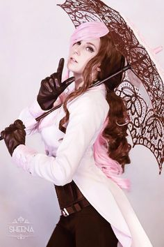 Neo from RWBY Costume Designed & Cosplayed by Sheena Duquette Photographed by ? Source: Sheena Duquette Cosplay via Facebook