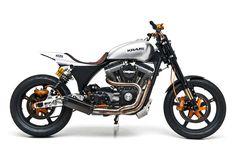 Harley Dyna street tracker by Kraus - Bike EXIF