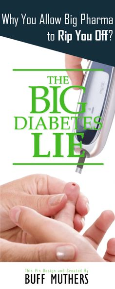 If This Solution (The Big Diabetes Lie) Can Save You Thousands Of Dollars, Would You Try It? Millions of individuals all over the world endure from diabetes, an