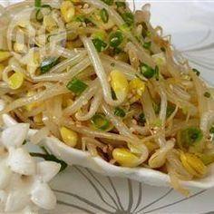 Rezeptbild: Koreanische Sojabohnensprossen (Kongnamool)
