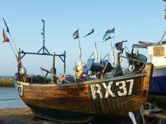 Hastings fishing boats (RX = Rye+ Hastings fleet.