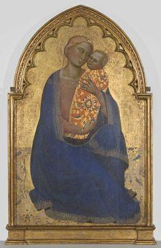 Jacopo di Cione:  Virgin and Child