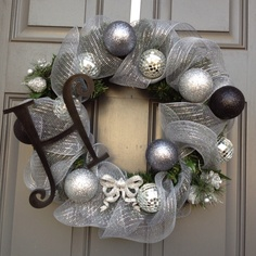 New Year's Wreath I made