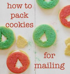 How to Pack up Cookies for Mailing! Find out how to PROS do it!