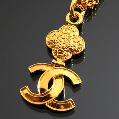 CHANEL Gold Double Chain Long Necklace by fashionsquid
