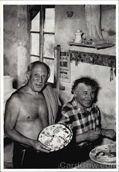 Picasso and Chagall, 1951