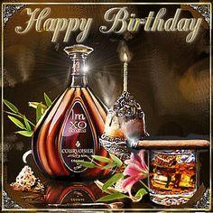 Happy Birthday Wishes Images, Birthday Greetings, Birthday Pins, Happy B Day, Birthdays, Flowers, Bling, Night, Sink Tops