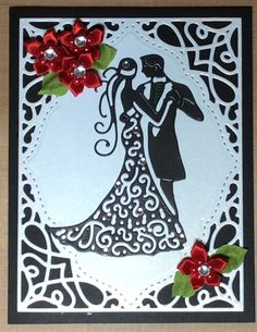 Spellbinders Tranquil Moments, Tattered Lace Couple