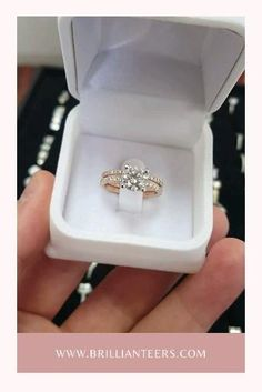 If you live for everything that's rose gold, you NEED a Rose Gold Bridal Set. Have a look at our Bridal sets at Brillianteers.com. They can all be made with a Rose Gold band 🌹 Engagement Wedding Ring Sets, Designer Engagement Rings, Engagement Ring Settings, Diamond Wedding Bands, Diamond Rings, Diamond Engagement Rings, Wedding Rings, Women's Jewelry, Bridal Sets
