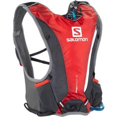 The ultra-lightweight Salomon Skin Pro 3 Hydration Pack becomes part of your body, so there is no bouncing or shifting while you run.
