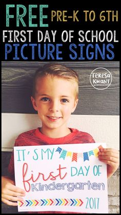 This is perfect for the first day of school. Take pictures of your students or children using this first day of school picture sign. Document the exciting day! 2 different styles and 3 different options available. Pre-K, kindergarten, first grade, second grade, third grade, fourth grade, fifth grade, and sixth grade available!