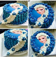 Beautiful Elsa Cake... I L❤VE IT!!