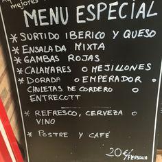 """Este es el menu de la Cervecería Restaurante """"YES"""". Es en el central de Alicante y en el foto puedas ver que este es muy caro en comparación de otros lugares. Pero en este menú hay muchos opciones para comer. Si quieres pagar un poco mas, y quieres probar nuevas cosas es un bueno lugar para tú. Pero necesitas pagar un extra de 10 euros."""