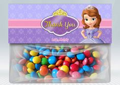 Hey, I found this really awesome Etsy listing at https://www.etsy.com/listing/163885679/princess-sofia-favor-bag-toppers