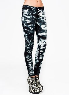 tie-dye skinny jeans-love the jeans.....not the shoes! they be cuter with the side bows too!