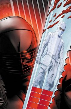 Snake Eyes & Storm Shadow - G.I. Joe - Joe Corroney