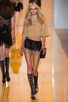 Versace- fashion show