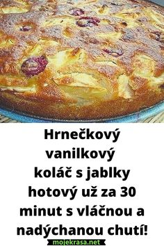 Czech Recipes, Challah, Ham, Banana Bread, French Toast, Cheesecake, Bakery, Food And Drink, Pudding