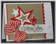 CAS Holiday Celebrate Today by stampercamper - Cards and Paper Crafts at Splitcoaststampers