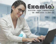 SISTEMA LABORATORIAL COMO VOCÊ SEMPRE QUIS, RÁPIDO, FÁCIL E EFICIENTE. ExamLab é um sistema para laboratório de analises clínicas que proporciona uma vida simples para muitos patologistas em todo o Brasil. Para maiores informações, acesse o site www.examlab.com.br e aproveite para agendar uma demonstração on-line.