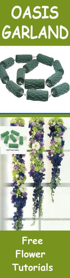 Floral Foam - Florist Supply for Weddings - Hanging Garland Learn how to make bridal bouquets, wedding corsages, grooms boutonnieres, church and reception decorations and more. Buy wholesale fresh flowers and discount florist supplies.