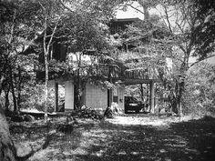 Mountain Lodeg at Karuizawa 1975|軽井沢の山荘 小川邸 吉村順三