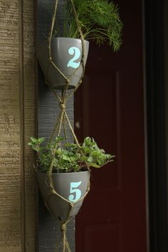 House Number Planter - Think Crafts by CreateForLess