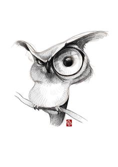 Sketchy animals on behance jewelry in 2019 bocetos de animales, buho dibujo Cool Art Drawings, Art Drawings Sketches, Cartoon Drawings, Cartoon Art, Pencil Art Drawings, Cute Owl Drawing, Drawing Cartoon Animals, Animal Sketches, Animal Drawings