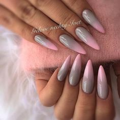 Best Gel Nail Art Designs For Long Best Gel Nail Art Designs For Long Nails 2018 Gel nails ar a lot of best nails since they need very little odds of obtaining raised and facilitate in reinforcing the real nails if utilised as a base c Perfect Nails, Gorgeous Nails, Trendy Nails, Cute Nails, Uñas Jamberry, Pig Nails, Imbre Nails, Uñas Fashion, Gel Nail Art Designs