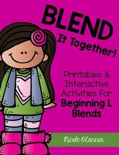 L Blends Activities: Printable Worksheets, Puzzles, and Connect 4 Game Boards!