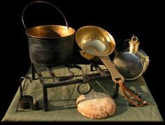 Roman soldier's kitchen. Great for a small event to cook your rations or re-heat a home made meal.