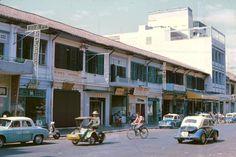 Saigon 1965 - Đường Nguyễn Văn Thinh (nay là Mạc Thị Bưởi) khúc Tự Do tới Hai Bà Trưng