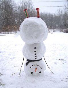 32 Crazy, Weird, Funny Snowmen – Pleated-Jeans.com