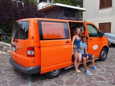 There is nothing more exciting than having folks rent or hire our Spicy campervans and return from their trip with smiling faces. Vw Bus, Volkswagen, Van Conversion Build, Campervan Hire, Smiling Faces, Smile Face, New Adventures, Slovenia, People Around The World