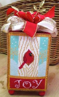 Cardinal Joy by EyeCandy Needleart