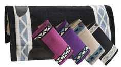 "32"" x 34"" Cutter style wool top pad with Kodel fleece bottom-32 x 34 Cutter style wool top pad with Kodel fleece bottom"