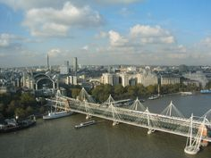 """London from the """"Eye"""""""